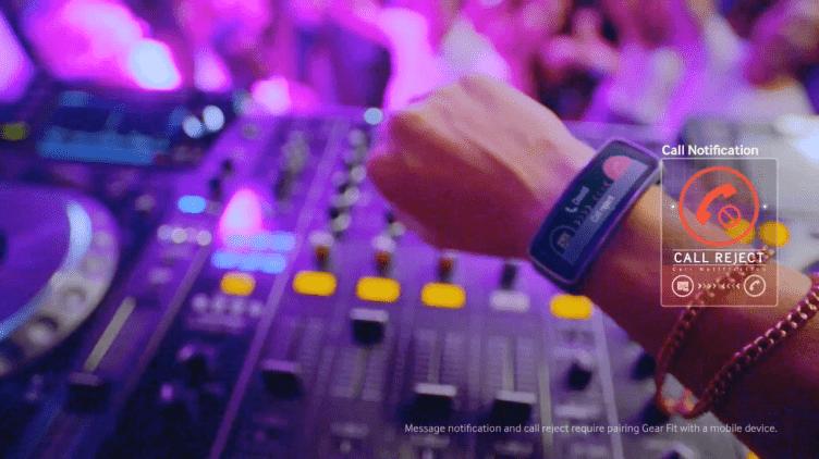 Nová reklama na chytré hodinky Samsung Gear Fit