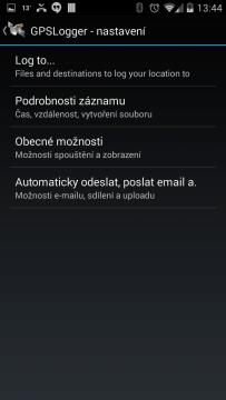 GPSLogger pro Android