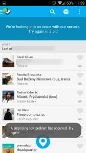 Foursquare má zakázaný přístup k síti