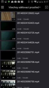 Náhledy nalezených videí