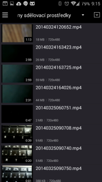 Náhledy videí