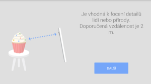 Fotoaparát Google: představení funkce rozostření objektivu