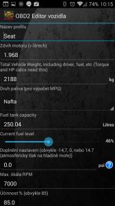 Profil vozidla