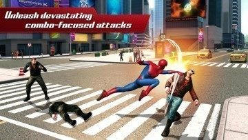 android hry the amazing spiderman 2