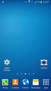 Galaxy Launcher 1 android aplikace