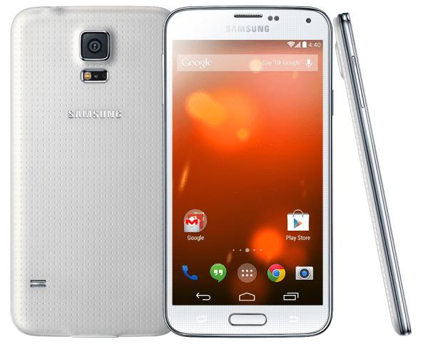 Detailnější pohled na obrázek Galaxy S5 GPE