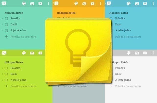 Google Keep: aktualizace přináší vyhledávání v obrázcích a nové rozhraní