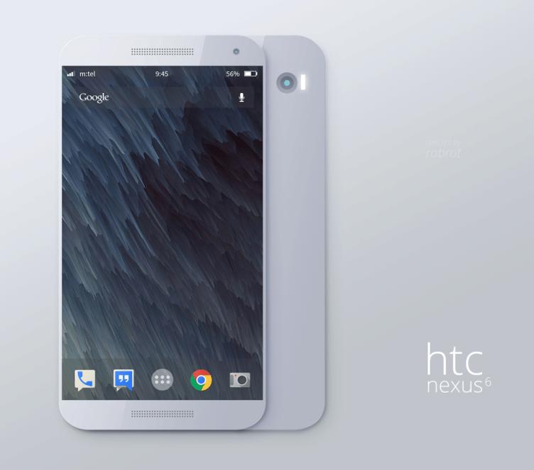 Render: Nexus 6 podle představy Aleksandara Tešiće