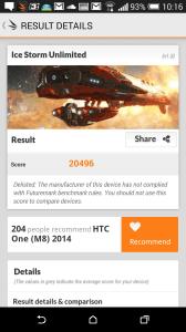 HTC One M8 recenze - 3DMark1
