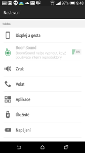 HTC One M8 recenze - BoomSound