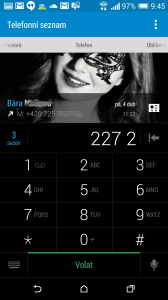 HTC One M8 recenze - dialer1