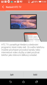 HTC One M8 recenze - TV
