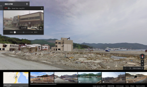StreetView JapanEarthquake