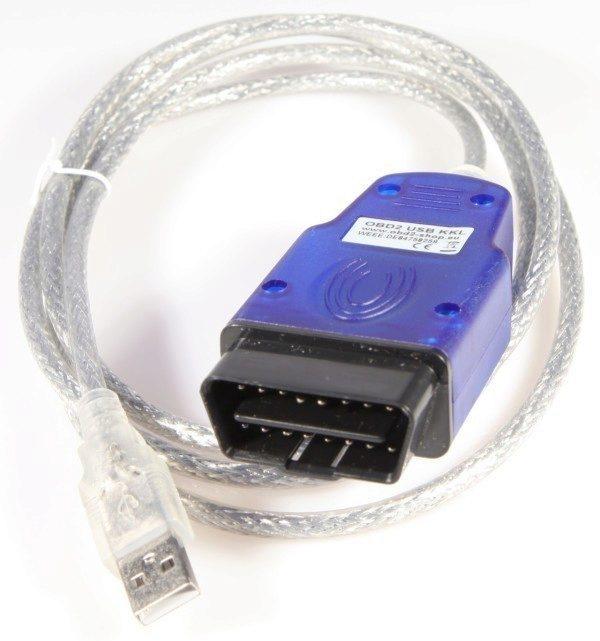 OBD kabel pro připojení skrze USB port