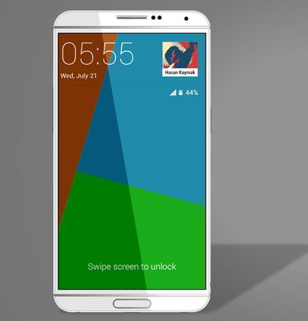 Jeden z amatérských renderů Samsungu Galaxy Note 4
