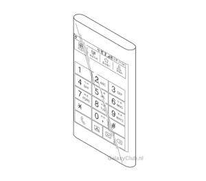 Obrázky z patentové přihlášky Samsungu
