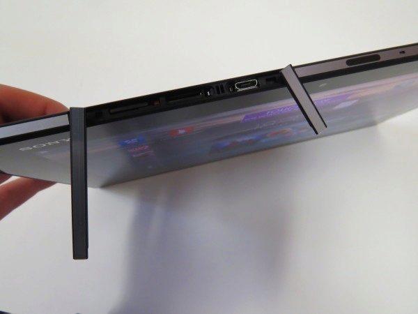 Sony Xperia Z2 Tablet - konektory