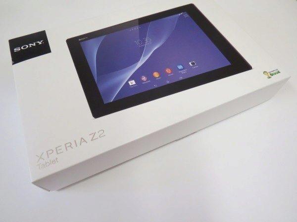 Sony Xperia Z2 Tablet - krabice