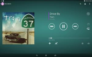 Sony Xperia Z2 Tablet - Přehrávač hudby