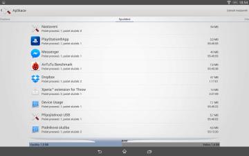 Sony Xperia Z2 Tablet - RAM
