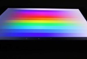 Sony Xperia Z2 Tablet - Test displeje