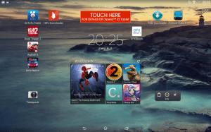 Sony Xperia Z2 Tablet - UI
