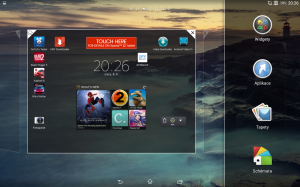 Sony Xperia Z2 Tablet - Widgety