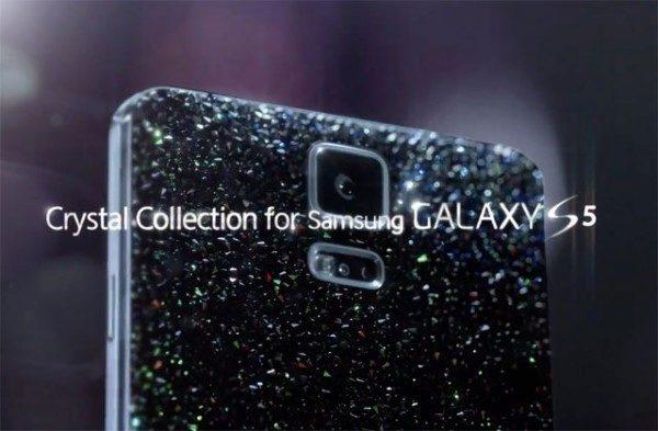 Samsung Galaxy S5 v limitované edici s krystaly Swarovski