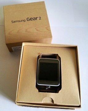 Galaxy Gear 2 v krabičce