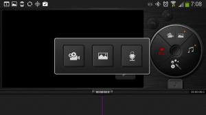 Nahrání videa, pořízení snímku či záznam zvuku