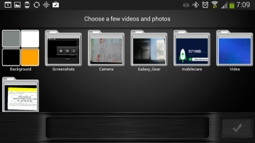 Výběr fotografií a obrázků do videa