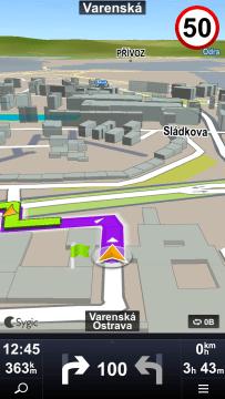 Sygic: turn-by-turn navigace