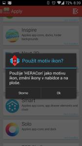 Použití motivu ikon