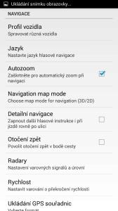 MapFactor: GPS Navigation: nastavení aplikace
