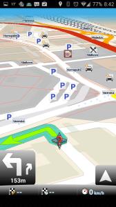 MapFactor: GPS Navigation: navigace