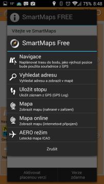 SmartMaps: GPS Navigace a Mapy: navigace