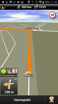 NAVIGON Europe: navigace
