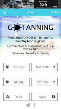 opalování Go Tanning