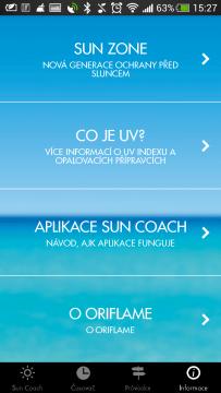 opalování Sun Coach