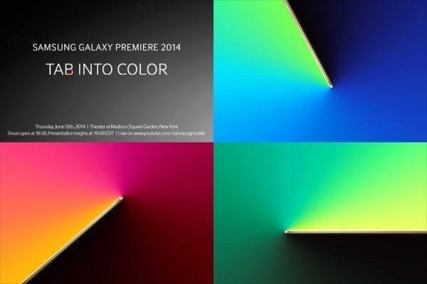 Pozvánka na akci Samsung Galaxy Premiere 2014