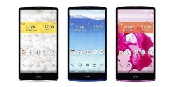 Telefon LG Isai s QHD displejem