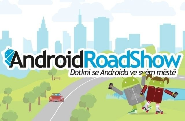 Android RoadShow náhled