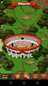 battle gem - mapa