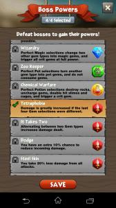 battle gem - síly