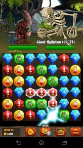 battle gems - aktivace kamenů