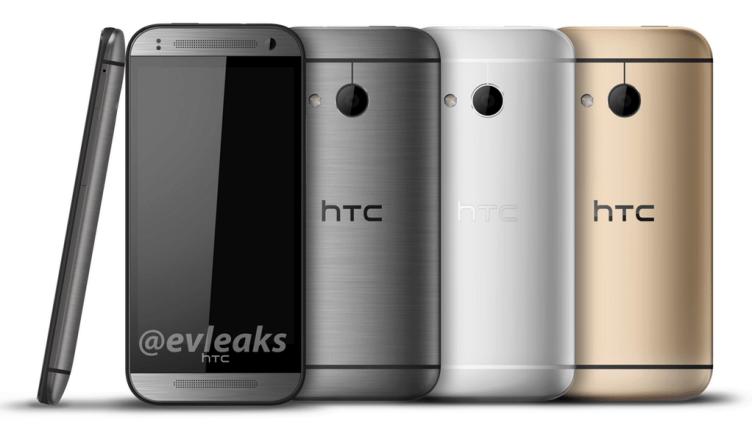 HTC One Mini 2 přijde v šedé, stříbrné a zlaté barvě