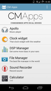 CM Apps - Cyanogenmod Apps 1