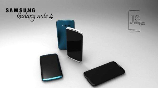 Render Samsungu Galaxy Note 4