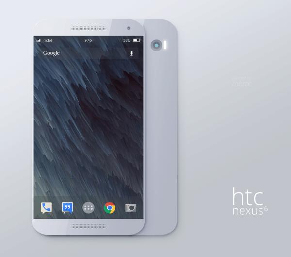 Takto by mohl vypadat Nexus 6 od HTC
