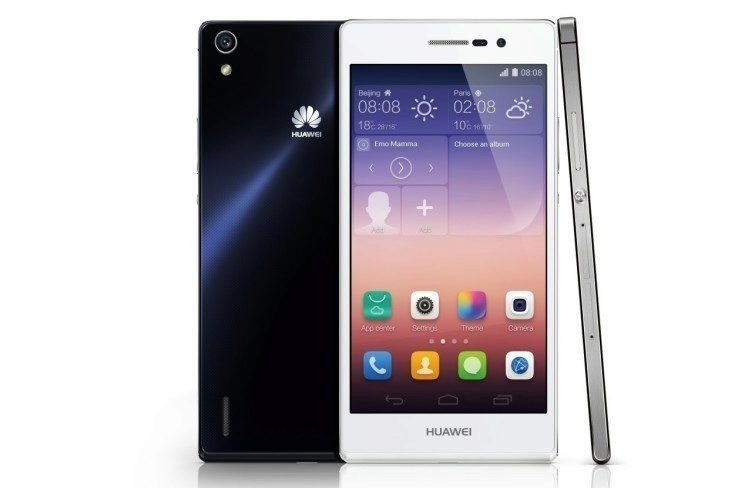 Huawei Ascend P7_Groupshot_Product photo_whiteBG1